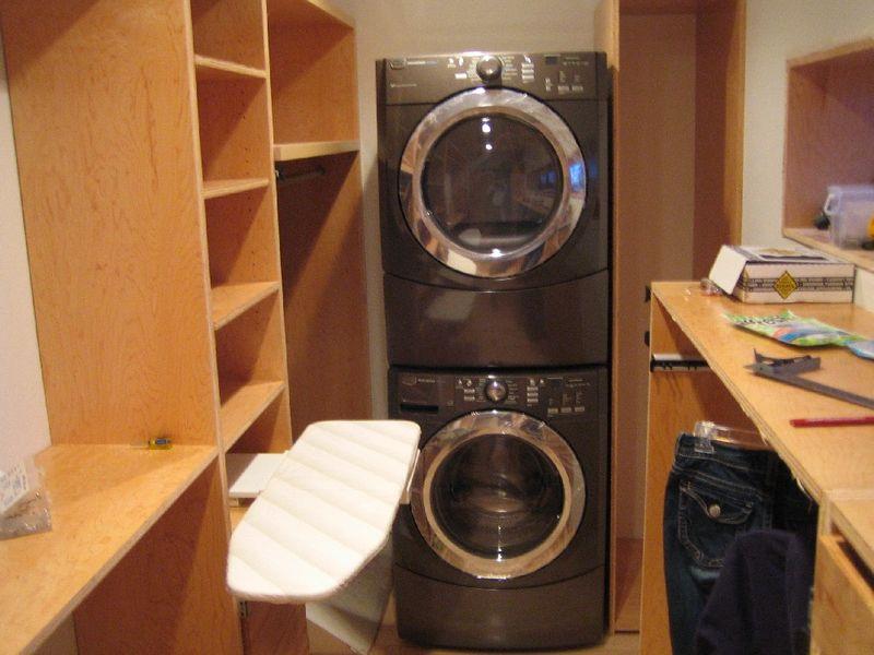 Master Closet Laundry